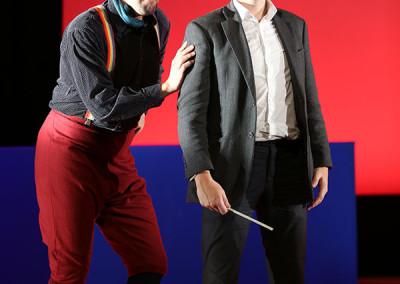 Bartolo - Il barbiere di Siviglia by Rossini - RAO OPERA SCENES OCTOBER 2014 Hana Zushi-Rhodes, Royal Academy of Music Photography Credit 4